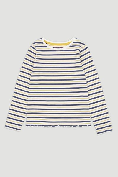 Navy & Yellow Stripe T-shirt