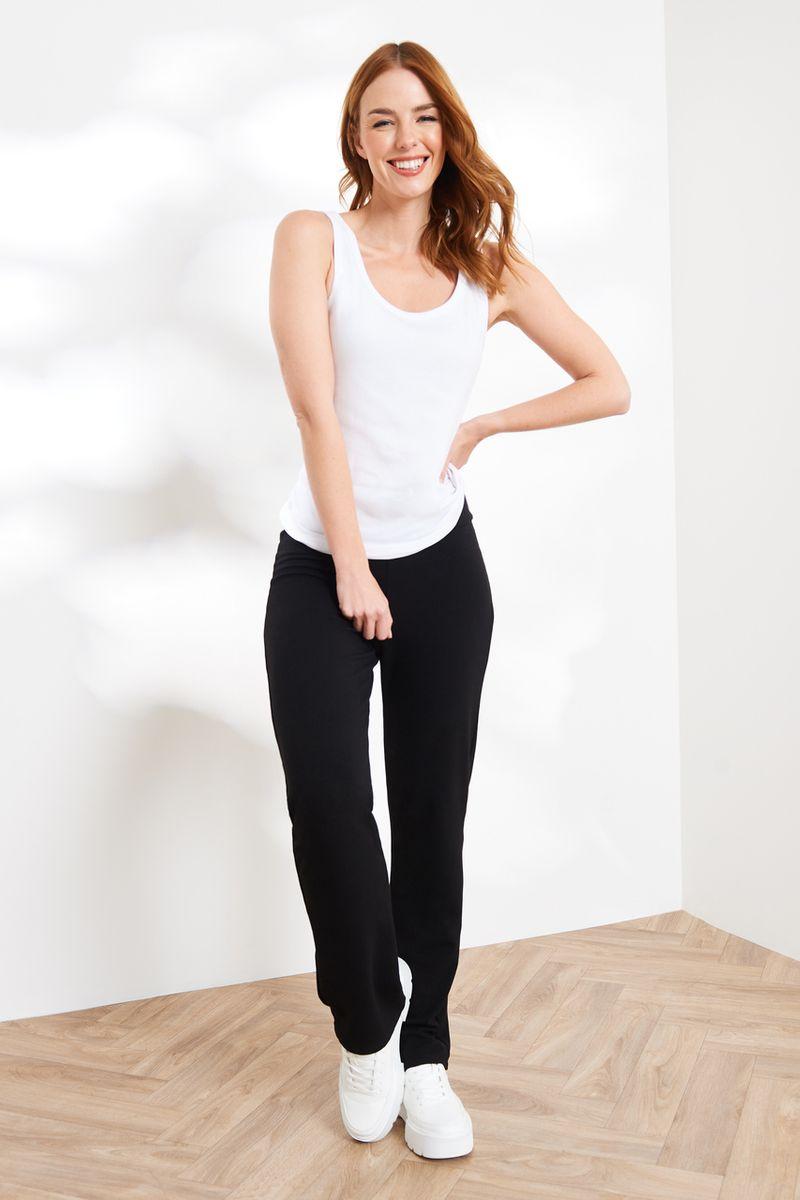 Black Yoga Trouser