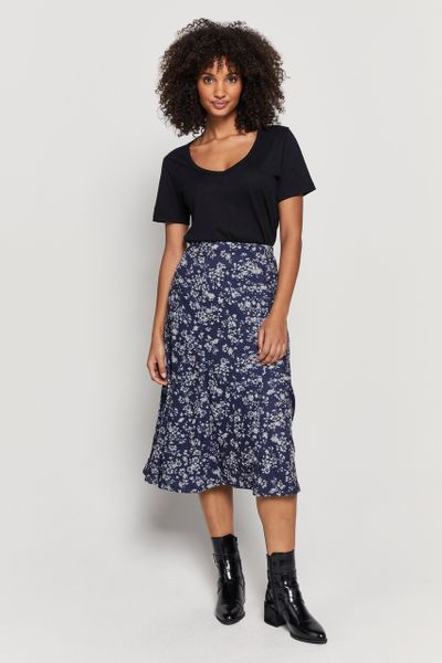 Cash Touch Floral Skirt