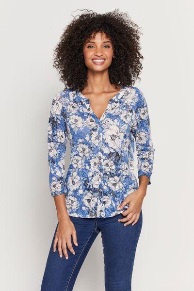 Rose Burnout Shirt