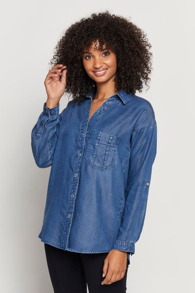 Denim Tencel Shirt