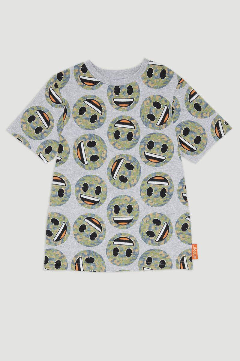 Emoji Smiley Print T-shirt