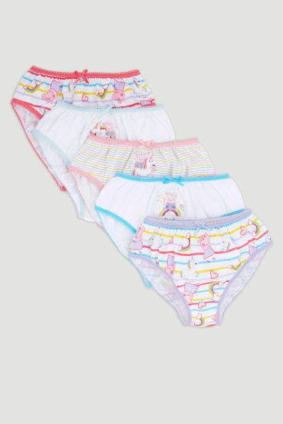 5 Pack Peppa Pig Briefs