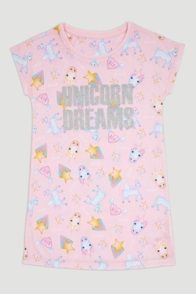 Emoji Unicorn Nightie