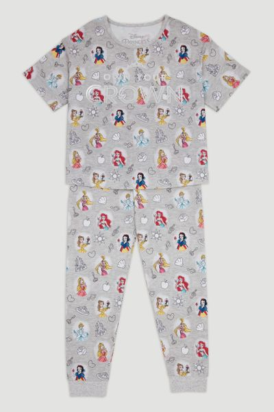 Disney Princess Print Pyjamas