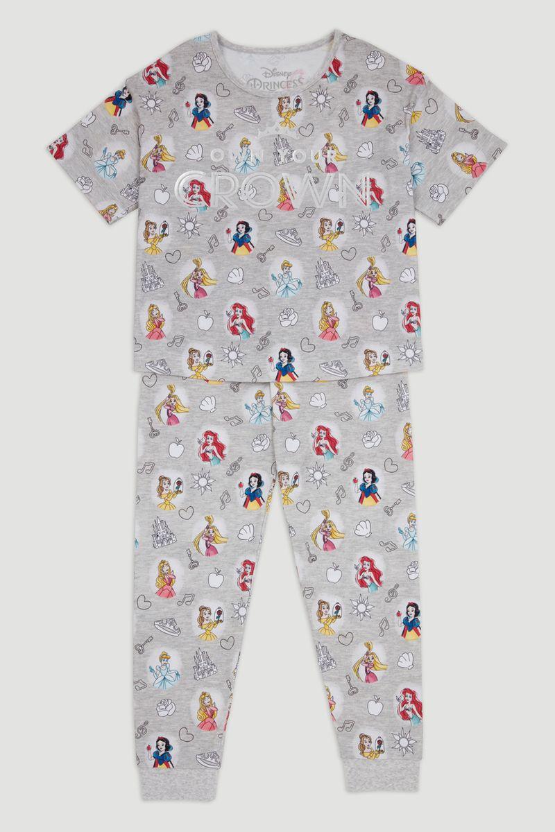 Disney Princess Print Pyjamas