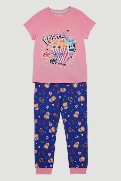 Popcorn Applique Pyjamas