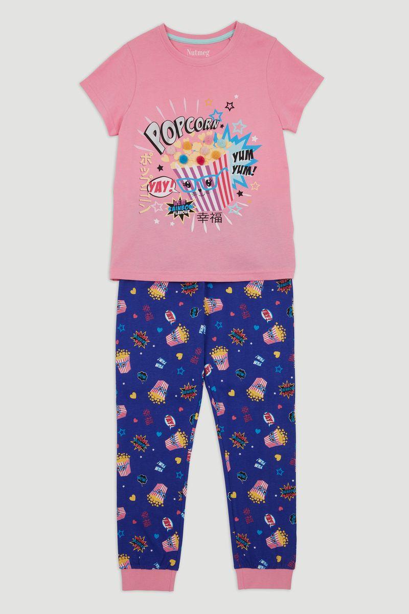 Popcorn Applique Pyjamas