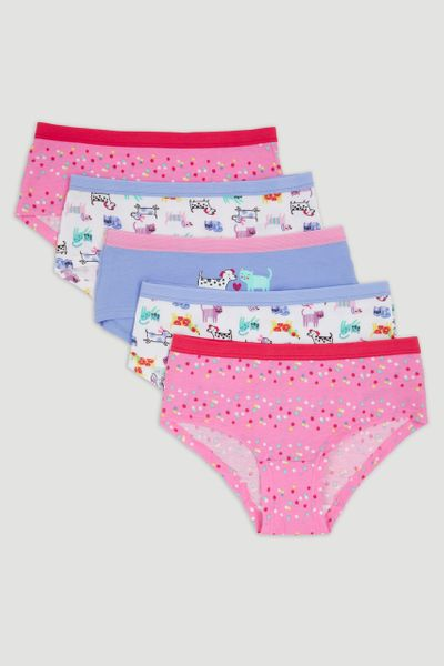 5 Pack Animal Boyshorts