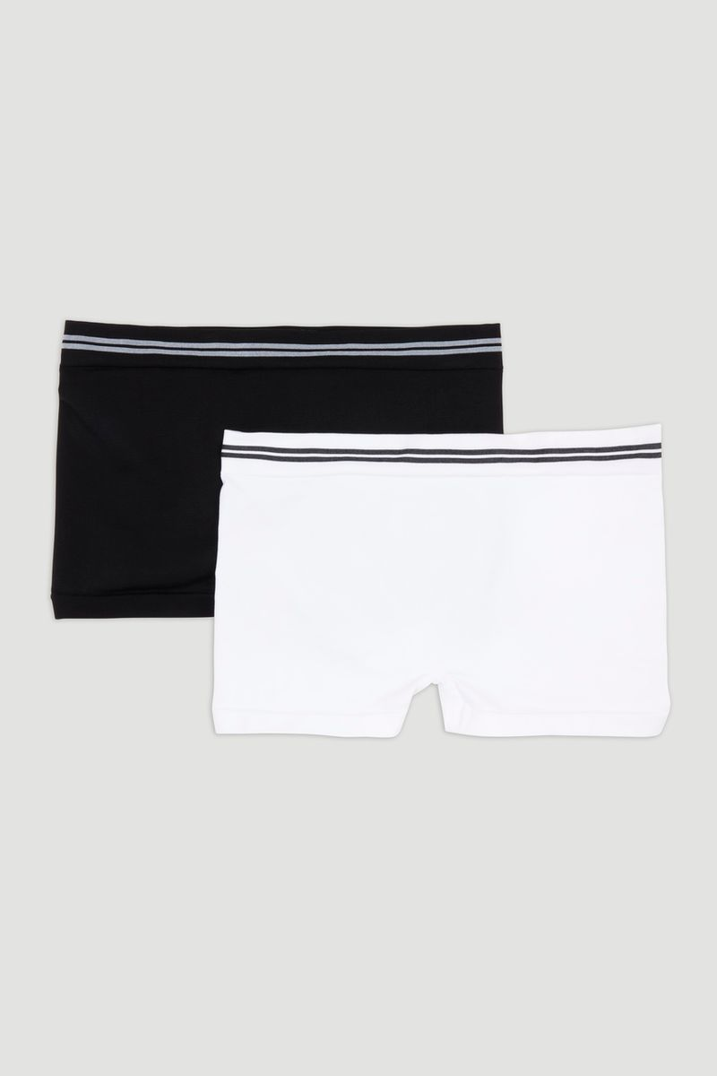 2 Pack Seam Free Boyshorts
