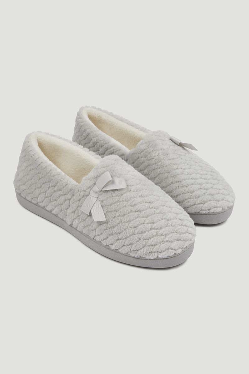 Grey Comfort Slipper