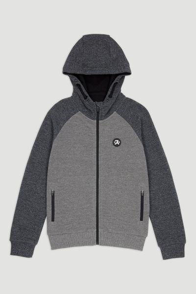 Grey Marl Hoodie 1-14yrs