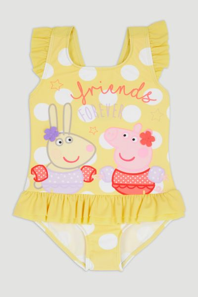 Peppa Pig Yellow Swimsuit