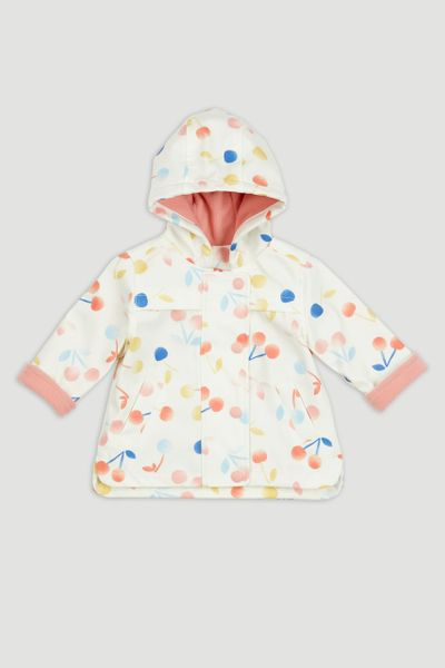 Cherry Raincoat