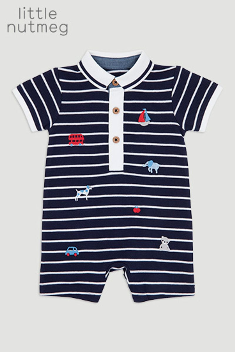 Little Nutmeg Nautical Romper