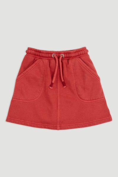 Jersey Red Skirt