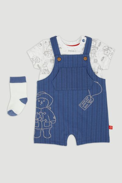 Paddington Bear Dungaree Set
