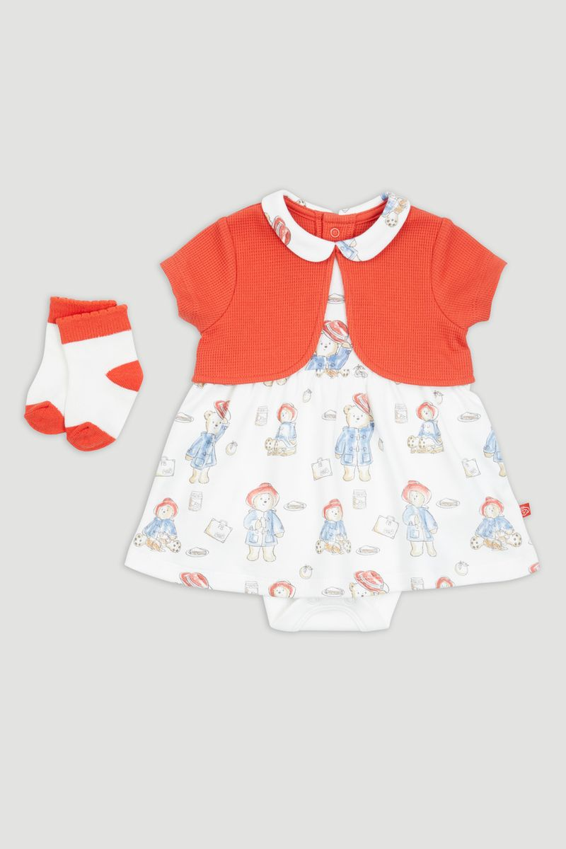 Paddington Bear Integral Romper Dress