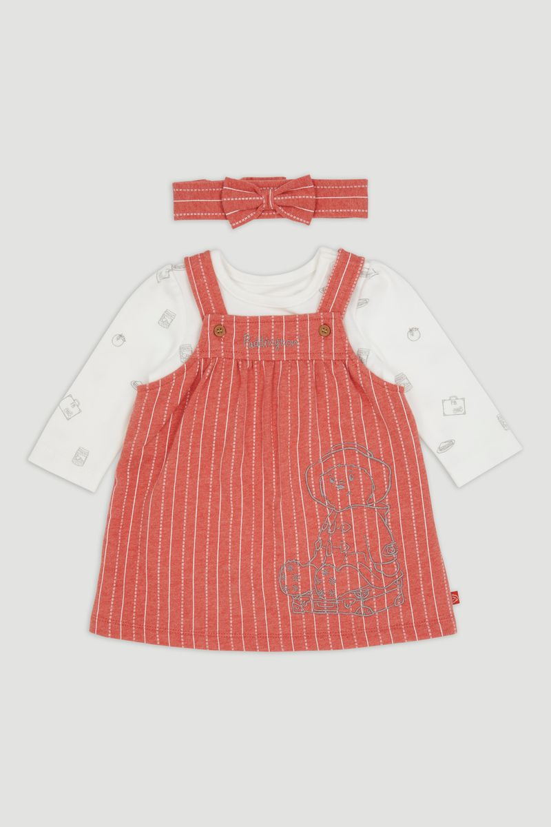 Paddington Bear Pinafore Set