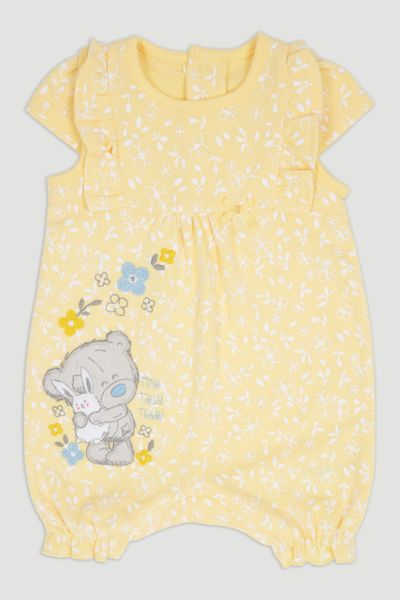 Tiny Tatty Bear Yellow Romper