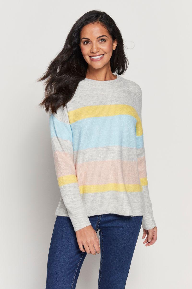 Pastel Stripe Jumper