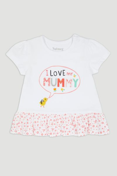Duckling Mummy Slogan T-Shirt