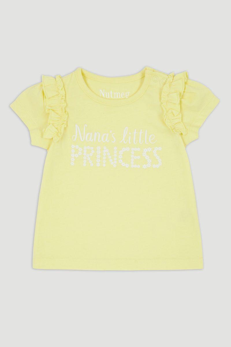 Yellow Nana's Little Princess T-Shirt