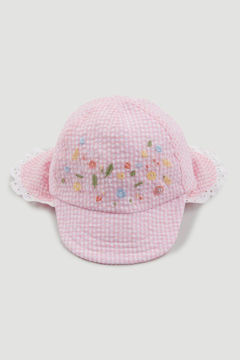 Gingham Keppi Hat