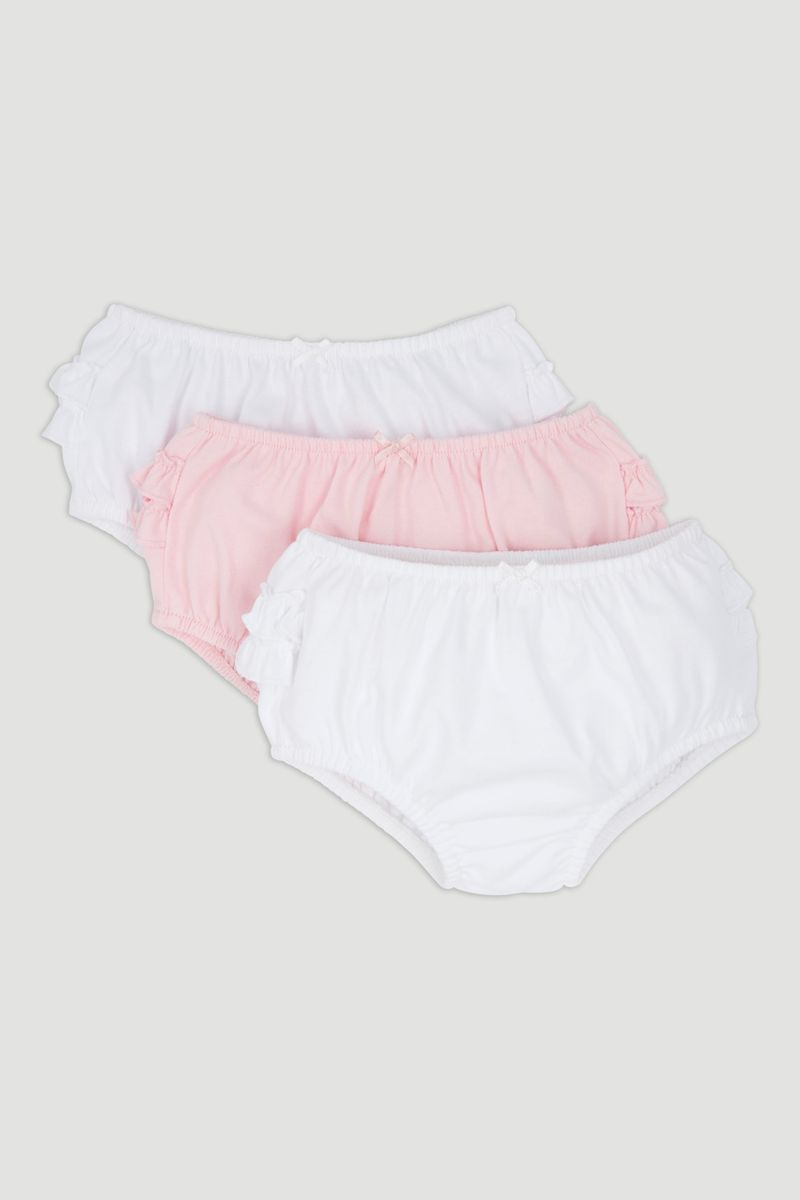 3 Pack Frilly Pants