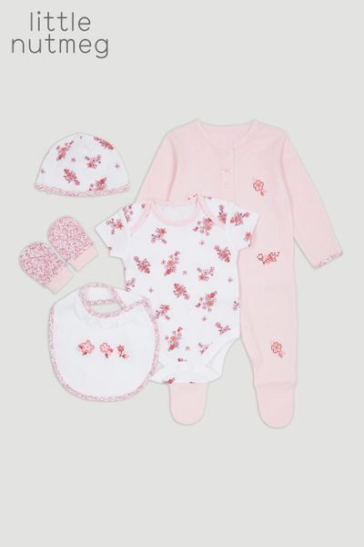 Little Nutmeg 5 Piece Pink Starter Set