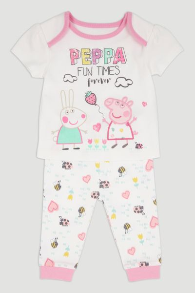 Peppa Pig White Pyjamas