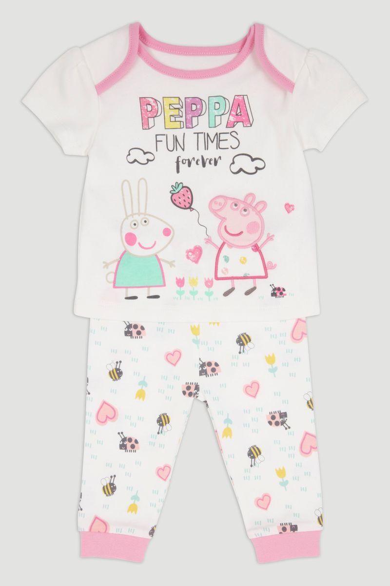 Peppa Pig White Pyjamas