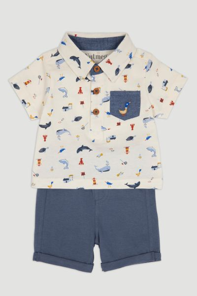 Whale T-Shirt & Short Set