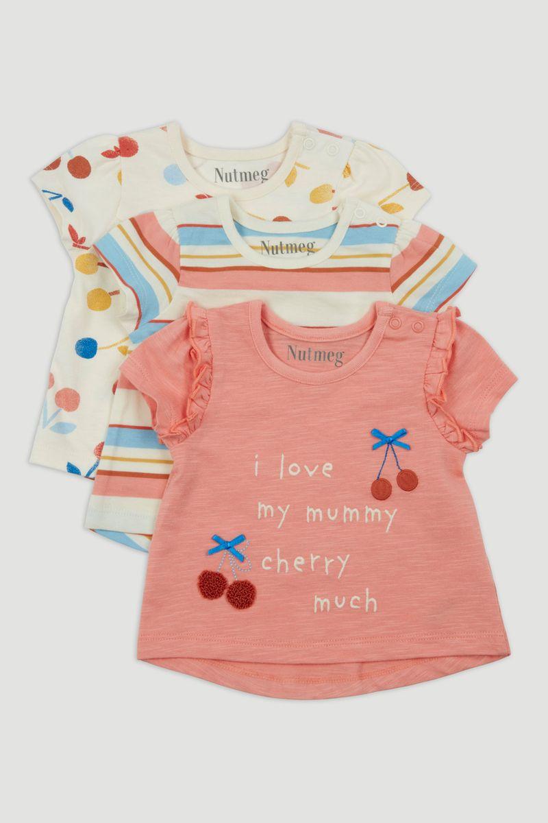 3 Pack Cherry T-Shirts