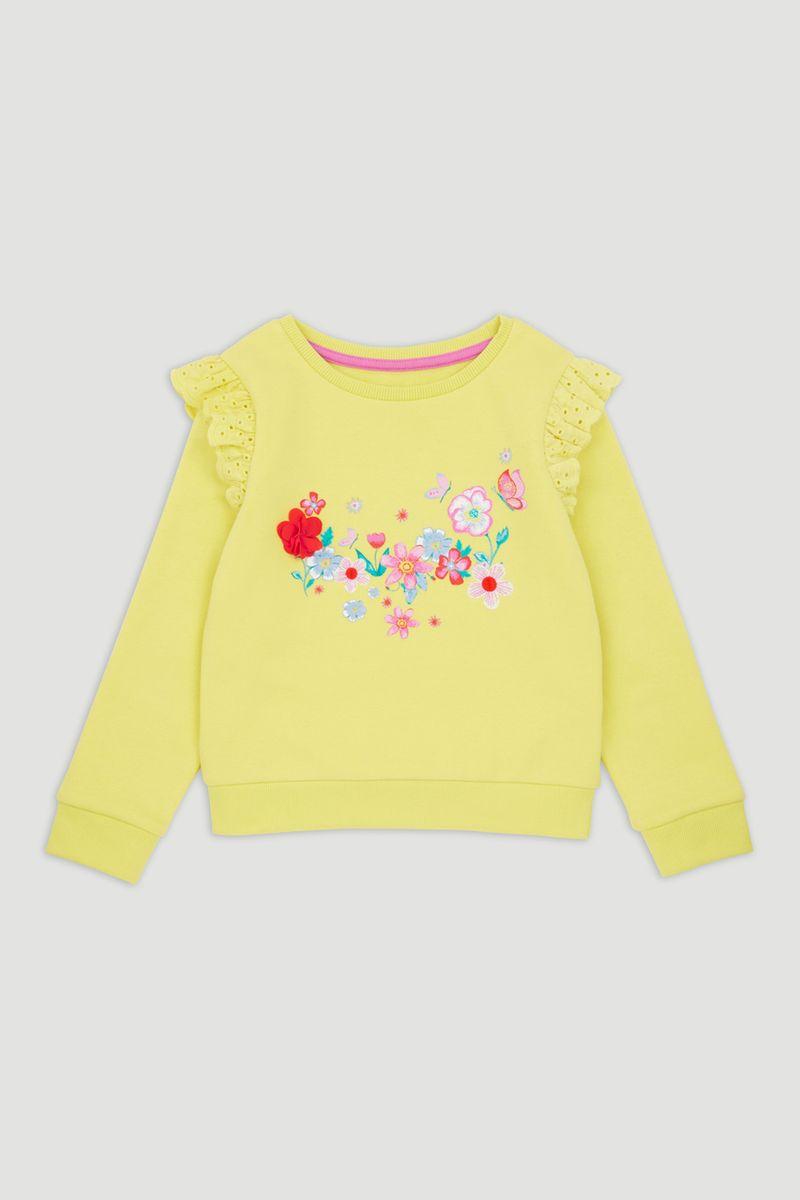 Yellow Flower Sweatshirt