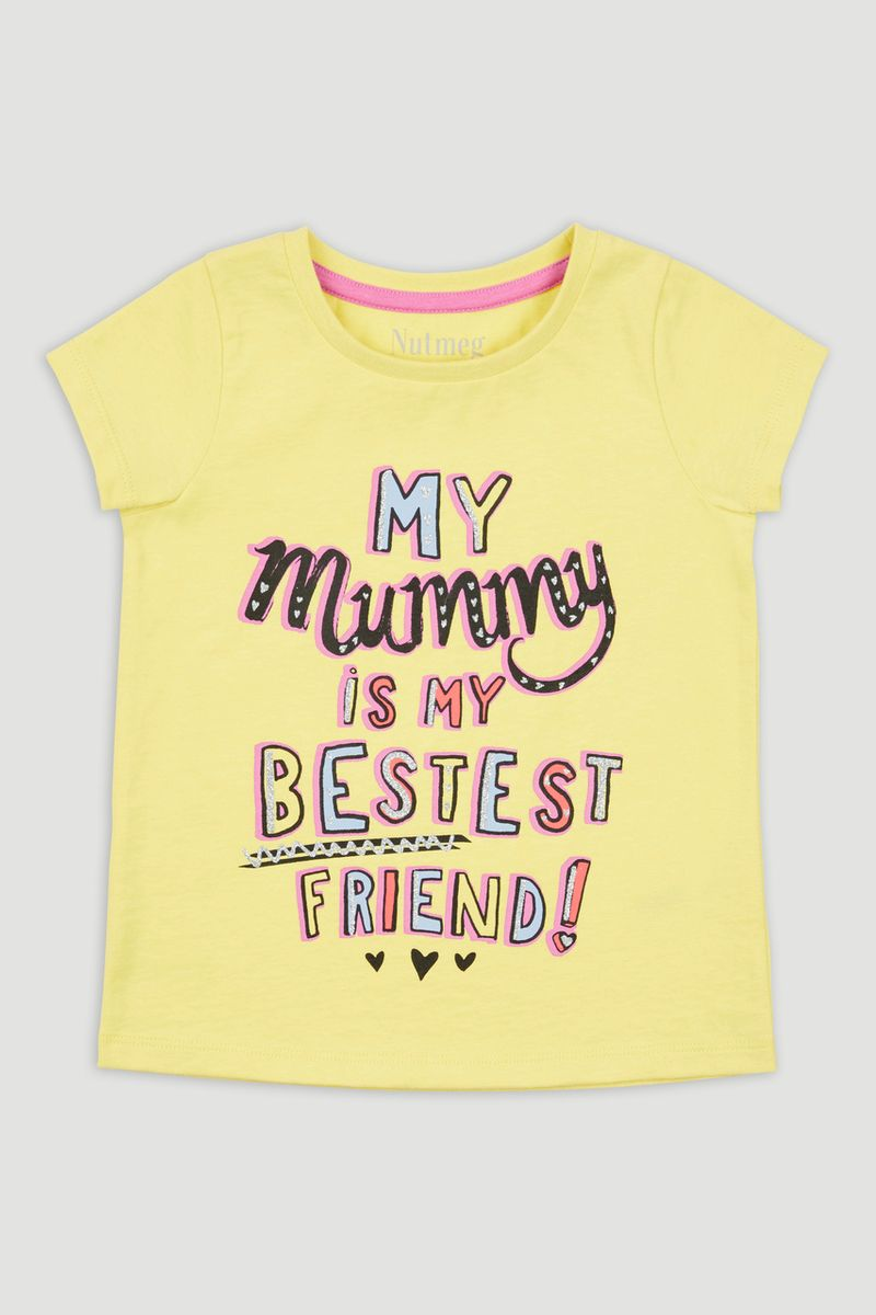 Mummy Slogan T-shirt