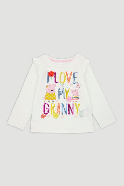 Peppa Pig Grandma Long Sleeve T-Shirt
