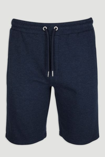 Navy Marl Sweat Shorts