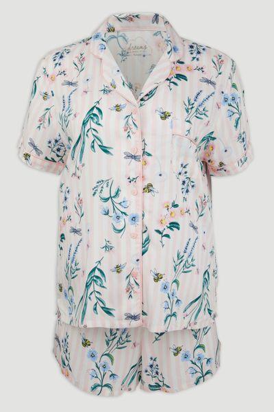 Pink Floral Pyjamas
