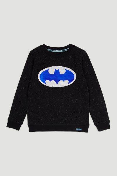 Batman Sequin Sweatshirt