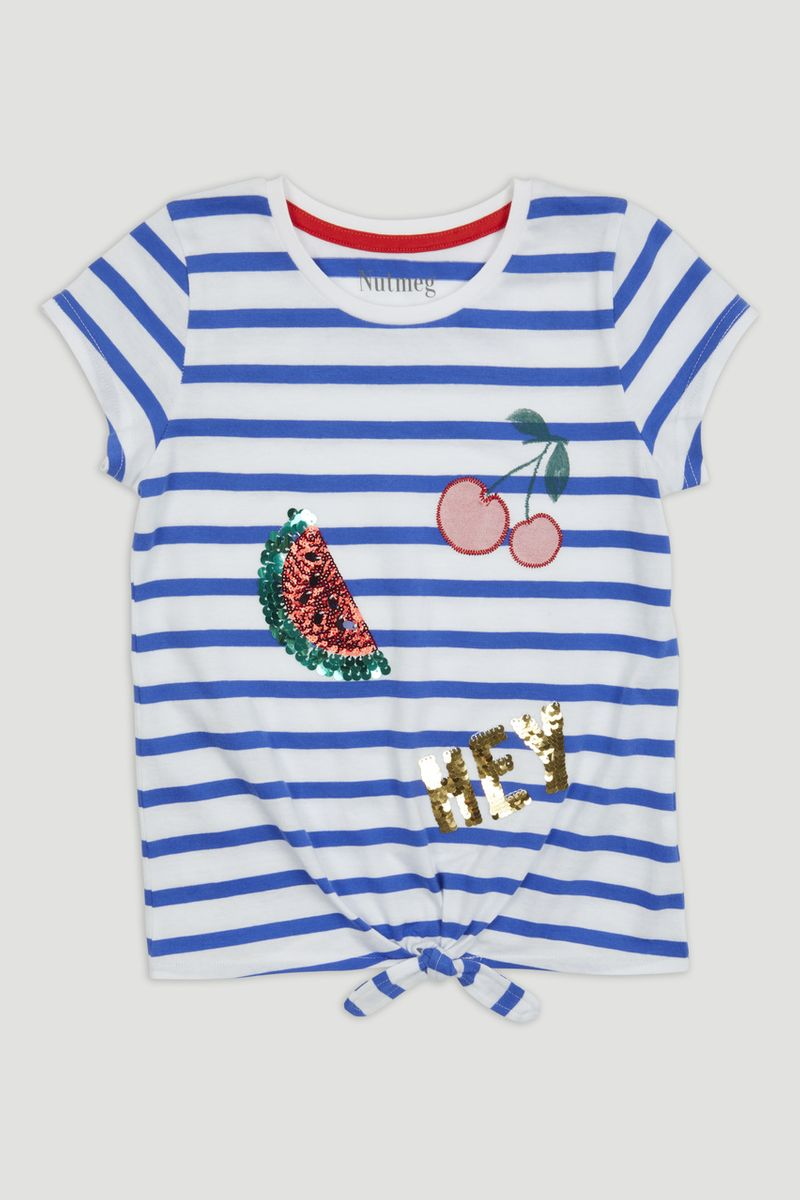 Sequin Stripe T-Shirt