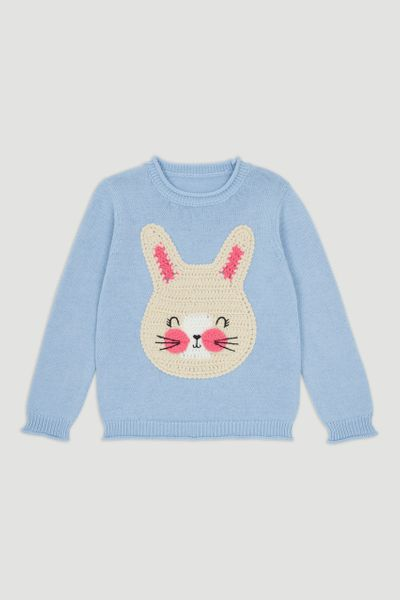 Bunny Knitted Jumper