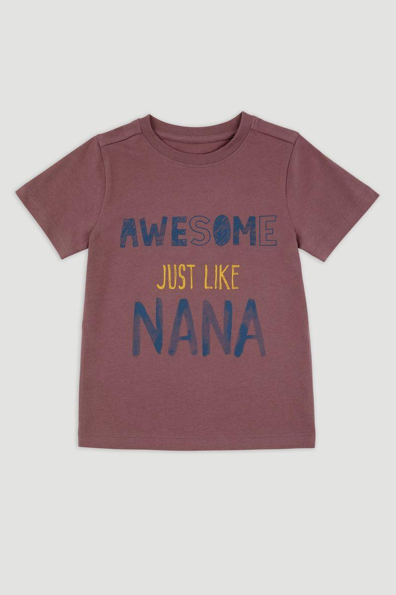 Awesome Just Like Nana Print T-Shirt