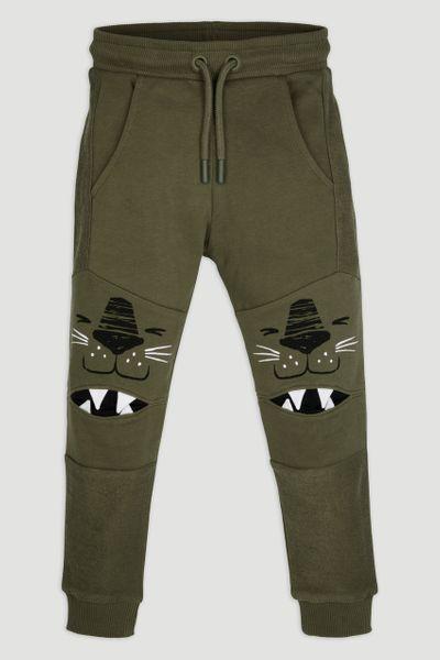 Khaki Lion Joggers