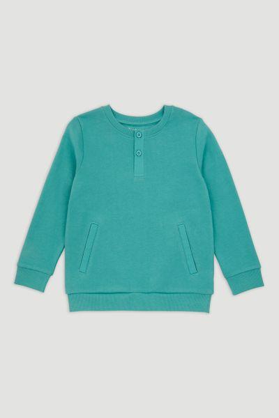 Soft Turquoise Sweatshirt