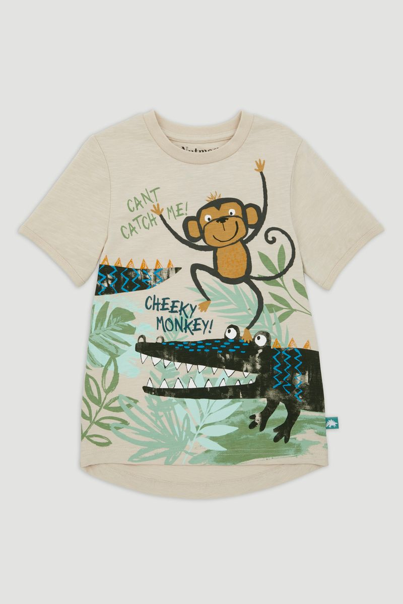 Crocodile & Monkey T-Shirt