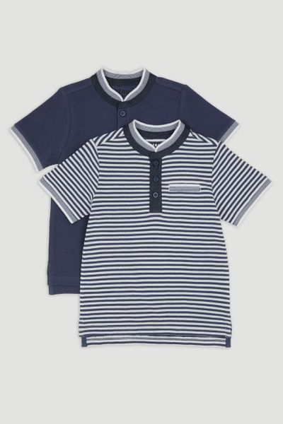 2 Pack Polo Shirts 1-14yrs