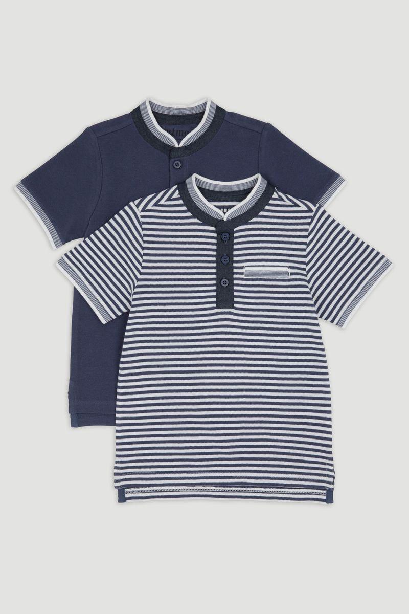 2 Pack Polo Shirts 1-14yrs