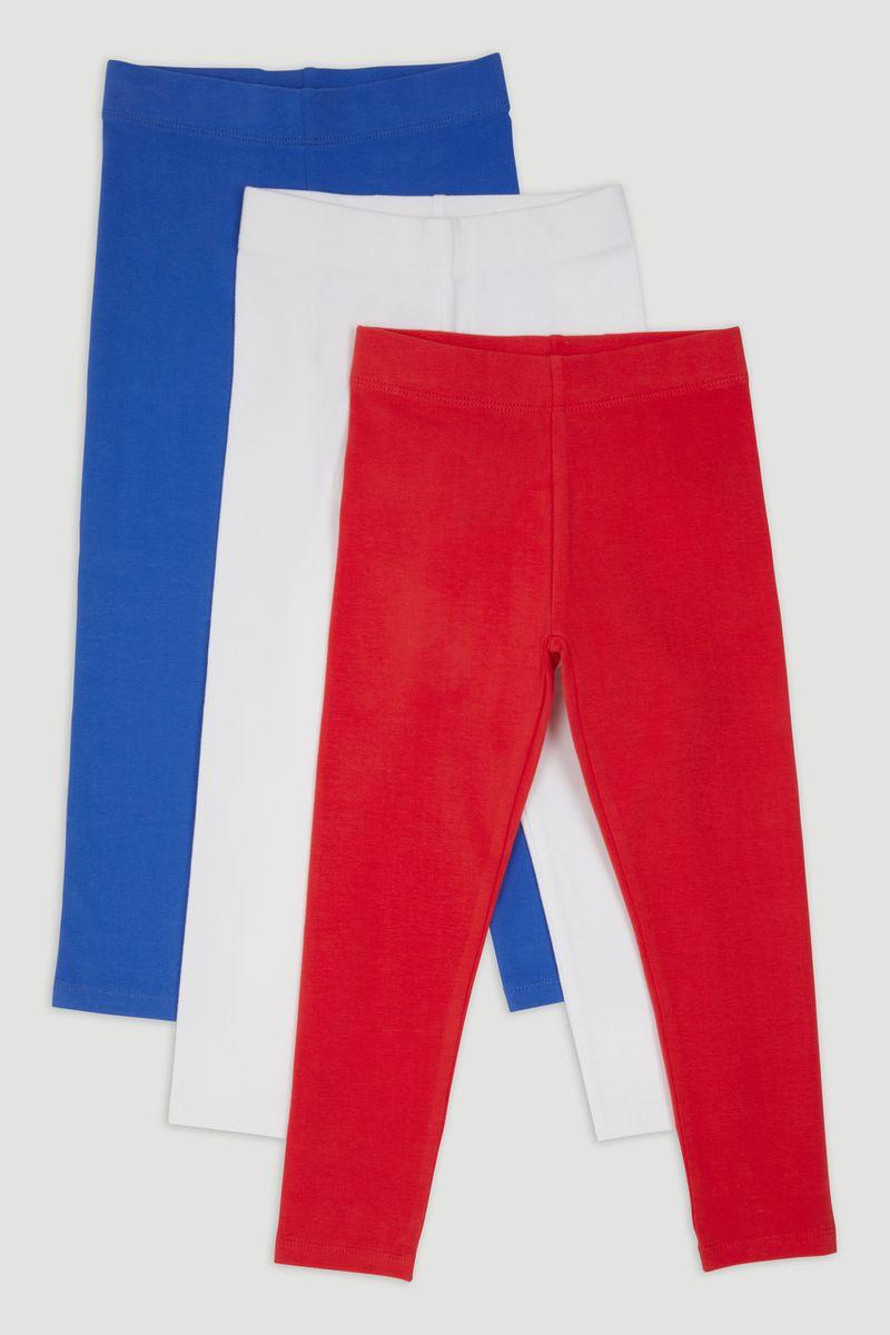 3 Pack Red Leggings