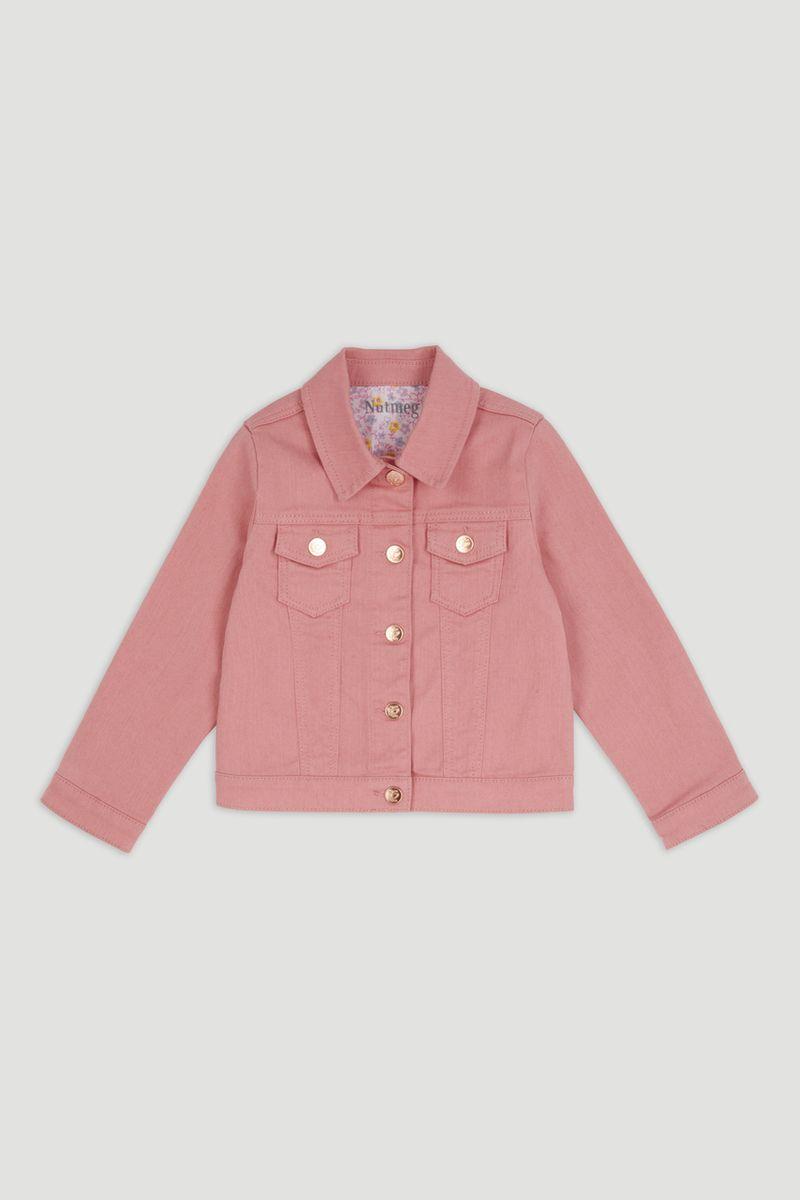 Denim Pink Jacket